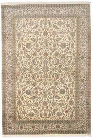Cachemire Pure Soie Tapis 166X245 D'orient Fait Main Beige Foncé/Beige (Soie, Inde)