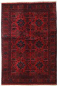 Afghan Khal Mohammadi Tapis 132X189 D'orient Fait Main Rouge Foncé/Marron Foncé (Laine, Afghanistan)