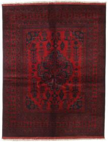 Afghan Khal Mohammadi Tapis 151X196 D'orient Fait Main Rouge Foncé/Marron Foncé (Laine, Afghanistan)
