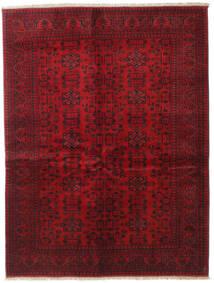 Afghan Khal Mohammadi Tapis 150X196 D'orient Fait Main Rouge Foncé/Rouge (Laine, Afghanistan)