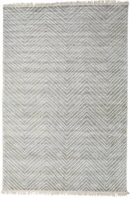 Vanice - Gris Clair Tapis 200X300 Moderne Fait Main Gris Clair ( Inde)