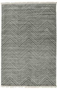 Vanice - Gris Vert Tapis 160X230 Moderne Fait Main Gris Clair/Gris Foncé ( Inde)