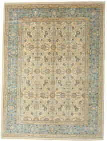 Ziegler Ariana Tapis 282X380 D'orient Fait Main Beige Foncé/Gris Clair Grand (Laine, Afghanistan)