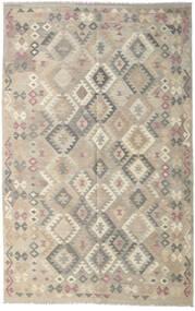 Kilim Afghan Old Style Tapis 190X301 D'orient Tissé À La Main Gris Clair (Laine, Afghanistan)