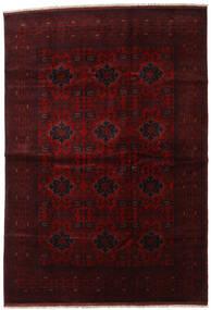 Afghan Khal Mohammadi Tapis 201X292 D'orient Fait Main Marron Foncé/Rouge Foncé (Laine, Afghanistan)