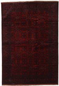 Afghan Khal Mohammadi Tapis 198X290 D'orient Fait Main Marron Foncé/Rouge Foncé (Laine, Afghanistan)