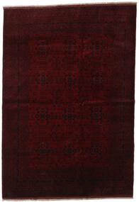 Afghan Khal Mohammadi Tapis 203X294 D'orient Fait Main Marron Foncé/Rouge Foncé (Laine, Afghanistan)