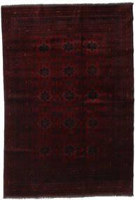 Afghan Khal Mohammadi Tapis 194X285 D'orient Fait Main Marron Foncé/Rouge Foncé (Laine, Afghanistan)