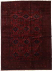 Afghan Khal Mohammadi Tapis 210X282 D'orient Fait Main Marron Foncé/Rouge Foncé (Laine, Afghanistan)