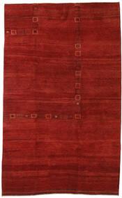 Gabbeh Persan Tapis 192X314 Moderne Fait Main Rouille/Rouge/Rouge Foncé (Laine, Perse/Iran)