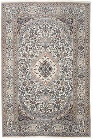 Naïn Tapis 200X300 D'orient Fait Main Gris Clair/Beige (Laine, Perse/Iran)