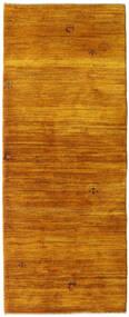 Gabbeh Persan Tapis 78X200 Moderne Fait Main Tapis Couloir Marron/Marron Clair (Laine, Perse/Iran)