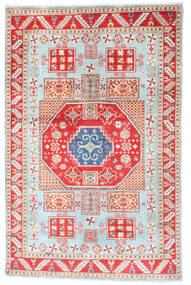 Kazak Tapis 117X181 D'orient Fait Main Beige/Blanc/Crème (Laine, Afghanistan)