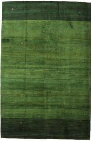 Gabbeh Persan Tapis 198X307 Moderne Fait Main Vert Foncé/Vert (Laine, Perse/Iran)