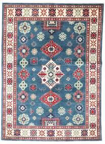 Kazak Tapis 149X209 D'orient Fait Main Bleu/Gris Foncé (Laine, Afghanistan)