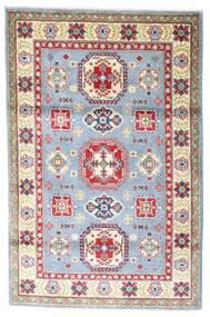 Kazak Tapis 118X182 D'orient Fait Main Beige/Gris Clair (Laine, Afghanistan)