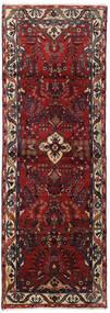 Hamadan Tapis 102X292 D'orient Fait Main Tapis Couloir Rouge Foncé/Gris Foncé (Laine, Perse/Iran)