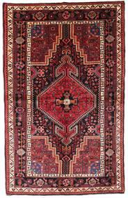 Toiserkan Tapis 140X222 D'orient Fait Main Rouge Foncé/Rouille/Rouge (Laine, Perse/Iran)