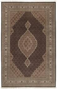 Tabriz Royal Tapis 198X296 D'orient Fait Main Marron/Marron Foncé/Gris Clair ( Inde)