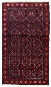 Baloutche Tapis 91X158 D'orient Fait Main Rouge Foncé/Marron Foncé (Laine, Perse/Iran)