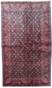 Hamadan Tapis 131X227 D'orient Fait Main Violet Foncé/Rose (Laine, Perse/Iran)