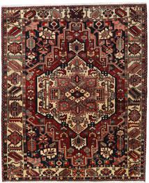 Bakhtiar Tapis 170X207 D'orient Fait Main Rouge Foncé/Marron Foncé (Laine, Perse/Iran)