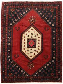 Kelardasht Tapis 218X282 D'orient Fait Main Noir/Rouge Foncé (Laine, Perse/Iran)