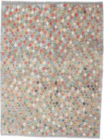 Kilim Afghan Old Style Tapis 179X234 D'orient Tissé À La Main Gris Clair (Laine, Afghanistan)
