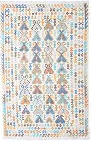 Kilim Afghan Old Style Tapis 194X302 D'orient Tissé À La Main Beige/Gris Clair (Laine, Afghanistan)