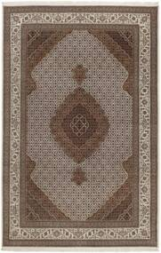 Tabriz Royal Tapis 200X303 D'orient Fait Main Gris Clair/Marron/Marron Foncé ( Inde)