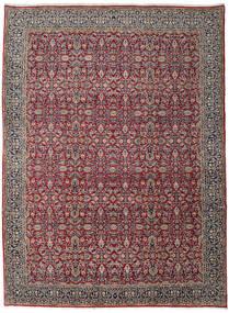Kerman Tapis 299X406 D'orient Fait Main Gris Foncé/Marron Foncé Grand (Laine, Perse/Iran)