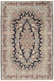 Kerman Tapis 200X300 D'orient Fait Main Gris Clair/Noir (Laine, Perse/Iran)