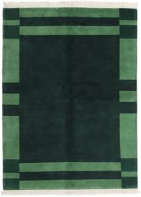 Gabbeh Indo Tapis 170X230 Moderne Fait Main Turquoise Foncé/Vert Foncé (Laine, Inde)