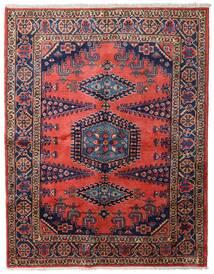 Wiss Tapis 163X209 D'orient Fait Main Marron/Bleu Foncé (Laine, Perse/Iran)