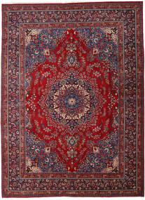 Mashad Tapis 290X395 D'orient Fait Main Rouge Foncé/Rouge Grand (Laine, Perse/Iran)