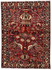 Bakhtiar Tapis 156X209 D'orient Fait Main Rouge Foncé/Marron Foncé (Laine, Perse/Iran)