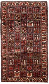Bakhtiar Tapis 169X289 D'orient Fait Main Marron Foncé/Rouge Foncé (Laine, Perse/Iran)