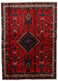 Afshar Tapis 177X246 D'orient Fait Main Rouge Foncé/Rouille/Rouge (Laine, Perse/Iran)