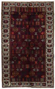Lori Tapis 148X244 D'orient Fait Main Rouge Foncé/Gris Foncé (Laine, Perse/Iran)