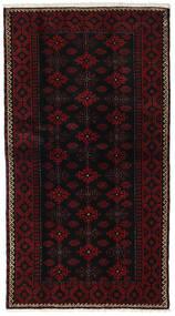 Baloutche Tapis 105X190 D'orient Fait Main Marron Foncé/Rouge Foncé (Laine, Perse/Iran)