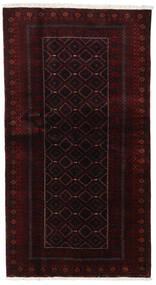 Baloutche Tapis 105X193 D'orient Fait Main Rouge Foncé (Laine, Perse/Iran)