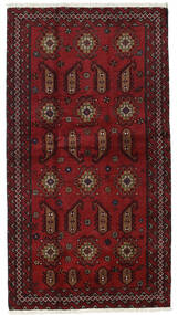 Baloutche Tapis 104X196 D'orient Fait Main Rouge Foncé (Laine, Perse/Iran)