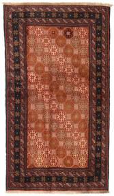 Baloutche Tapis 100X172 D'orient Fait Main Rouge/Noir (Laine, Perse/Iran)