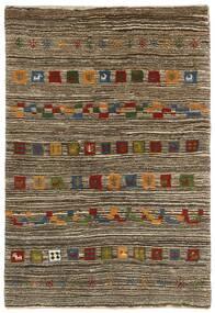 Gabbeh Persan Tapis 118X178 Moderne Fait Main Gris Clair/Marron Foncé (Laine, Perse/Iran)