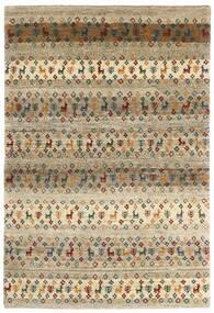 Gabbeh Persan Tapis 129X190 Moderne Fait Main Marron Clair/Gris Clair (Laine, Perse/Iran)