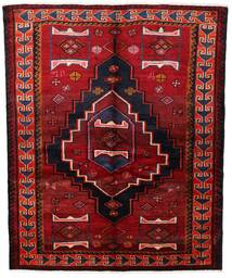Lori Tapis 155X190 D'orient Fait Main Rouge Foncé/Rouille/Rouge (Laine, Perse/Iran)