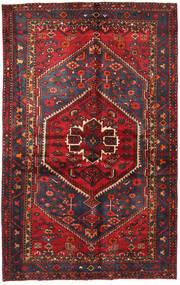 Hamadan Tapis 130X208 D'orient Fait Main Rouge Foncé/Noir (Laine, Perse/Iran)
