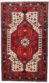 Nahavand Tapis 112X188 D'orient Fait Main Rouge Foncé/Marron Foncé (Laine, Perse/Iran)