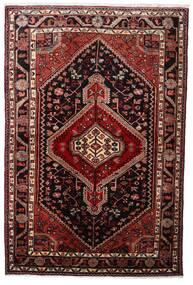 Hamadan Tapis 108X163 D'orient Fait Main Rouge Foncé (Laine, Perse/Iran)
