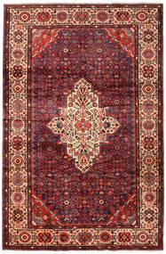 Mehraban Tapis 217X332 D'orient Fait Main Rouge Foncé/Marron Foncé (Laine, Perse/Iran)